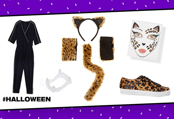Três conjuntos para o Halloween
