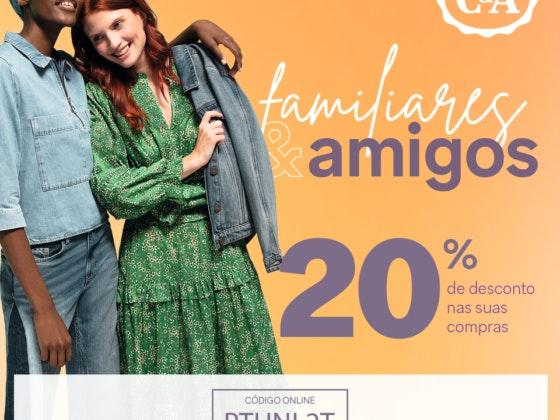 C&A _ 20% _ desconto